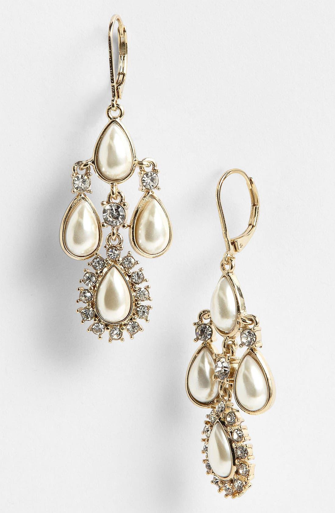 Main Image - Anne Klein Chandelier Earrings