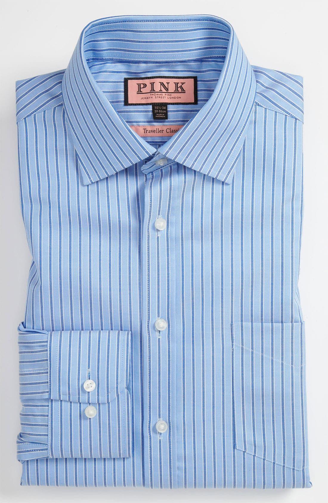 Main Image - Thomas Pink Classic Fit Traveller Dress Shirt