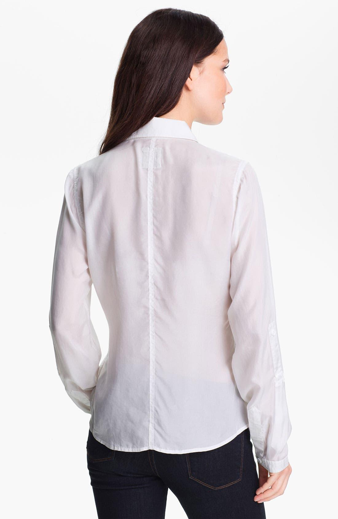 Alternate Image 2  - Go by go Silk Safari Shirt