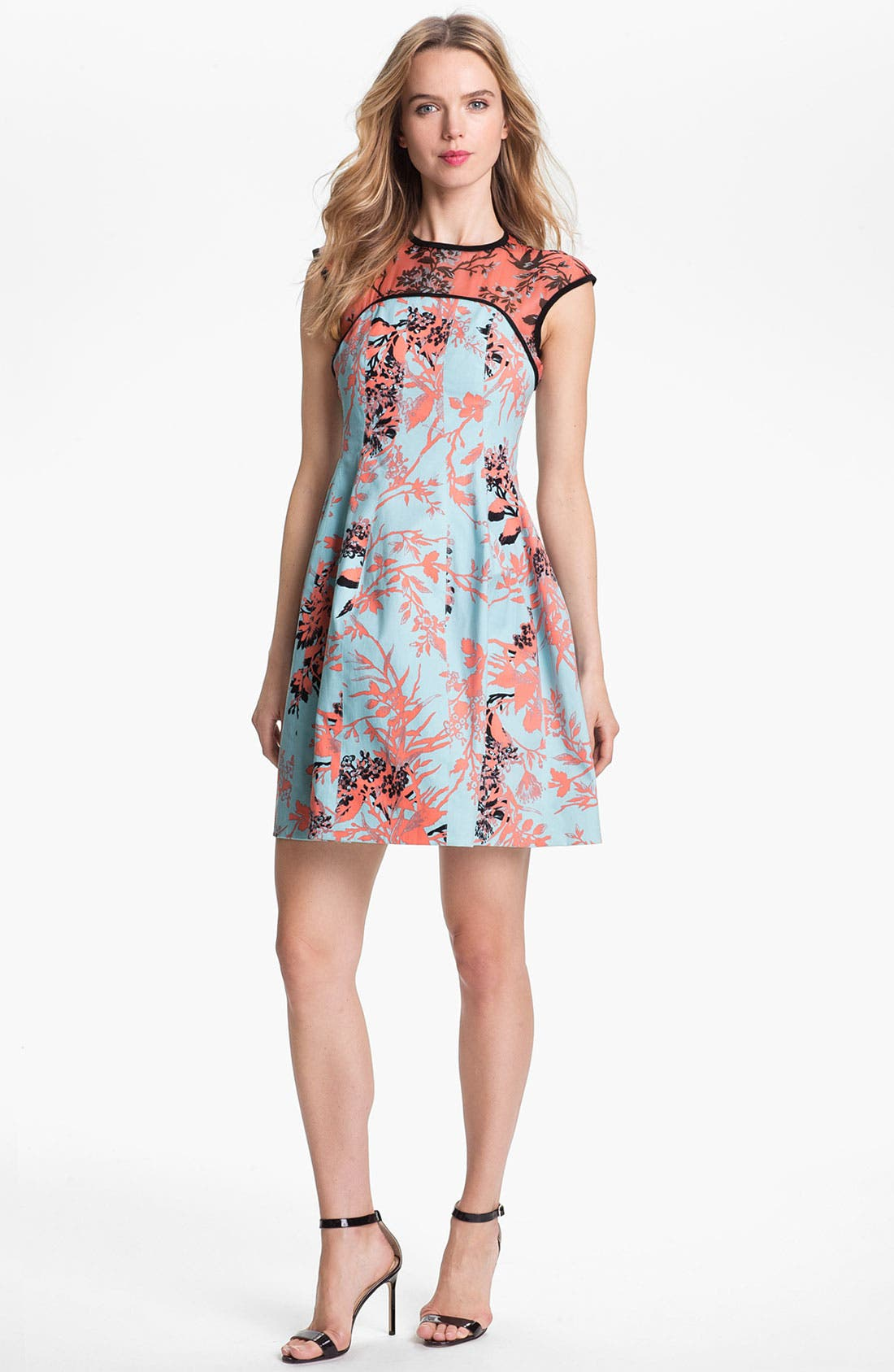 Main Image - Nanette Lepore 'Club Mix' A-Line Dress
