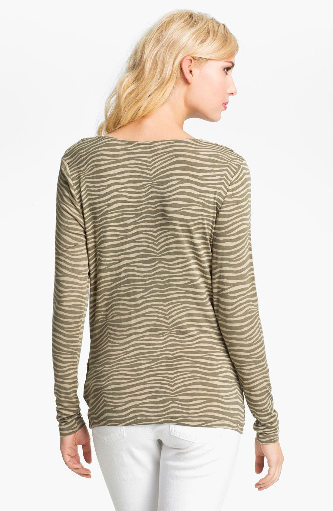 Alternate Image 2  - MICHAEL Michael Kors Animal Print Top