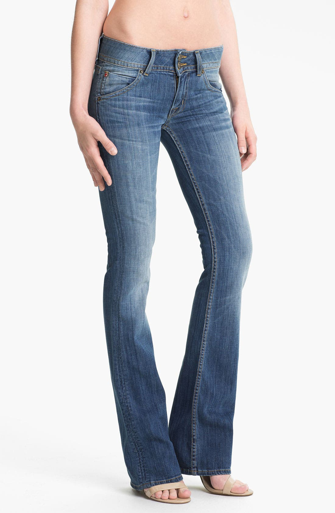 Alternate Image 1 Selected - Hudson Jeans Signature Flap Pocket Bootcut Jeans (Milo)