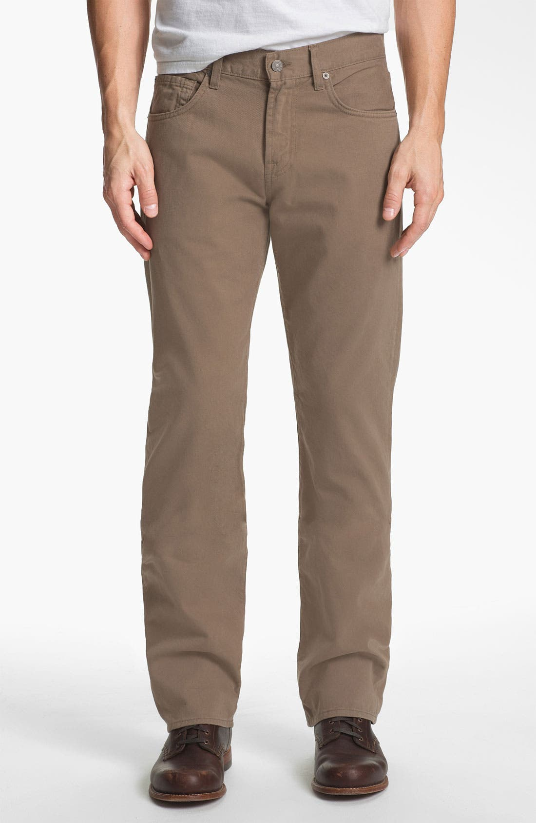Alternate Image 2  - 7 For All Mankind® 'Carsen' Straight Leg Pants