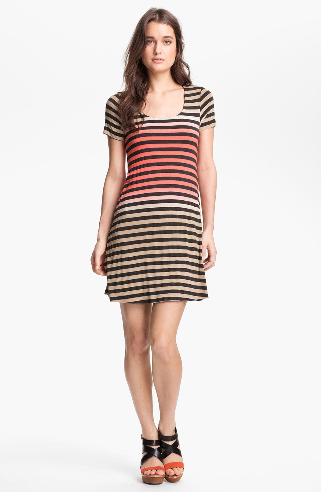 Alternate Image 1 Selected - B44 Dressed by Bailey 44 'Ibiza' Stripe T-Shirt Dress