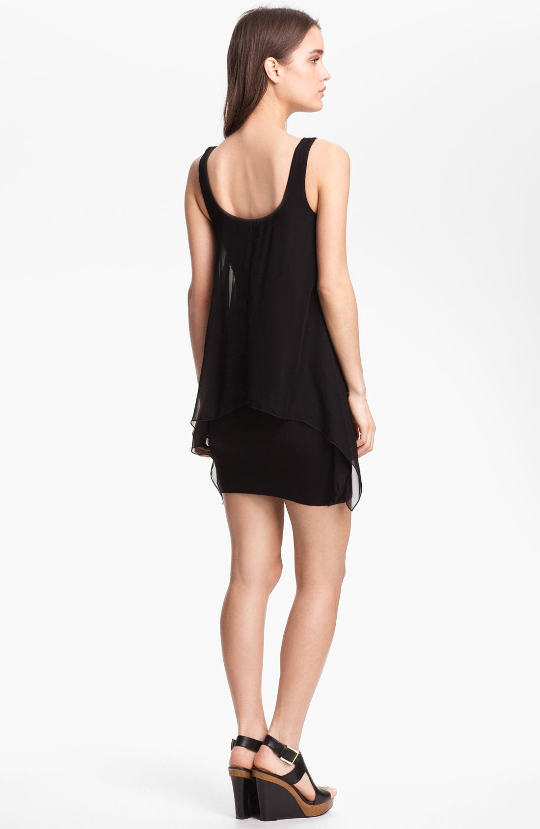 Alternate Image 2  - B44 Dressed by Bailey 44 'Manta Ray' Chiffon Tank Minidress