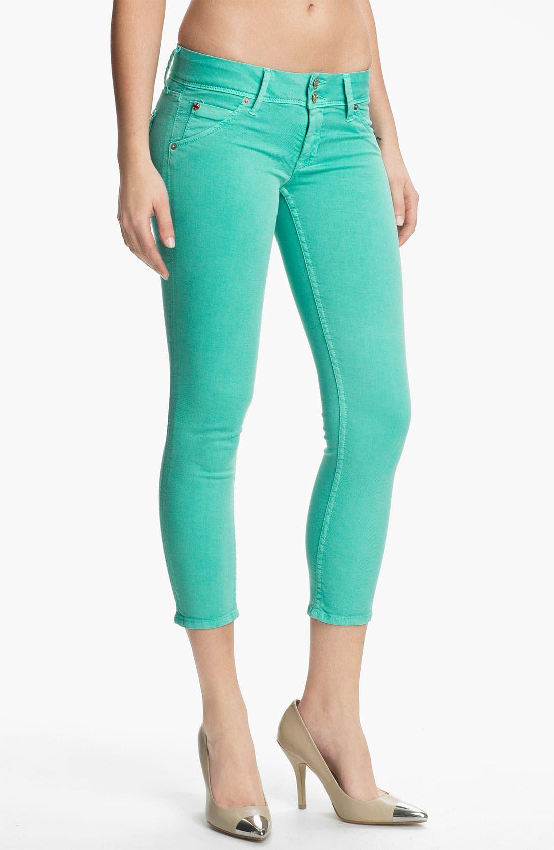Main Image - Hudson Jeans 'Collin' Crop Skinny Jeans (Supernova)