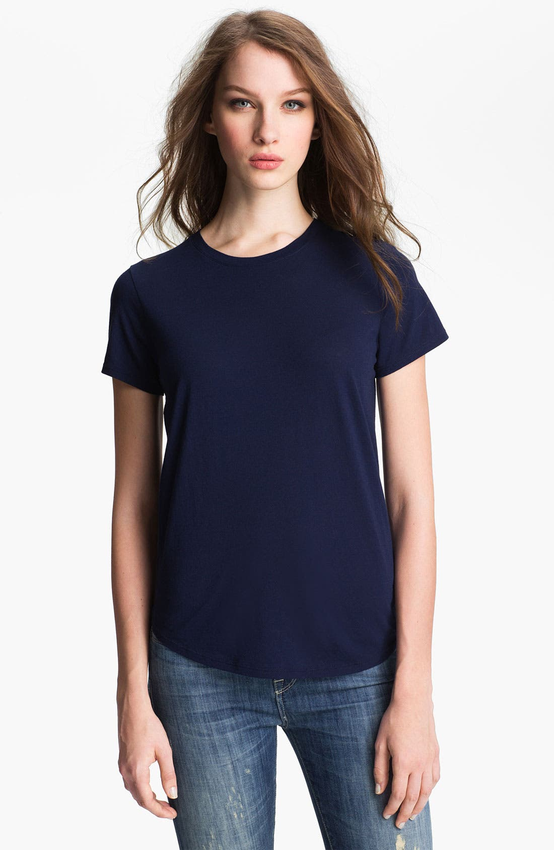 Alternate Image 1 Selected - Vince Shirttail Tee