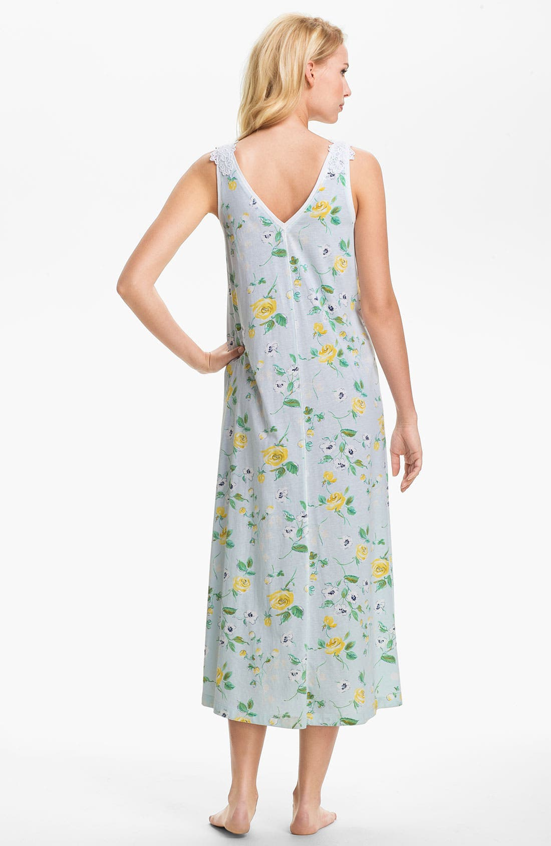 Alternate Image 2  - Carole Hochman Designs Sleeveless Nightgown