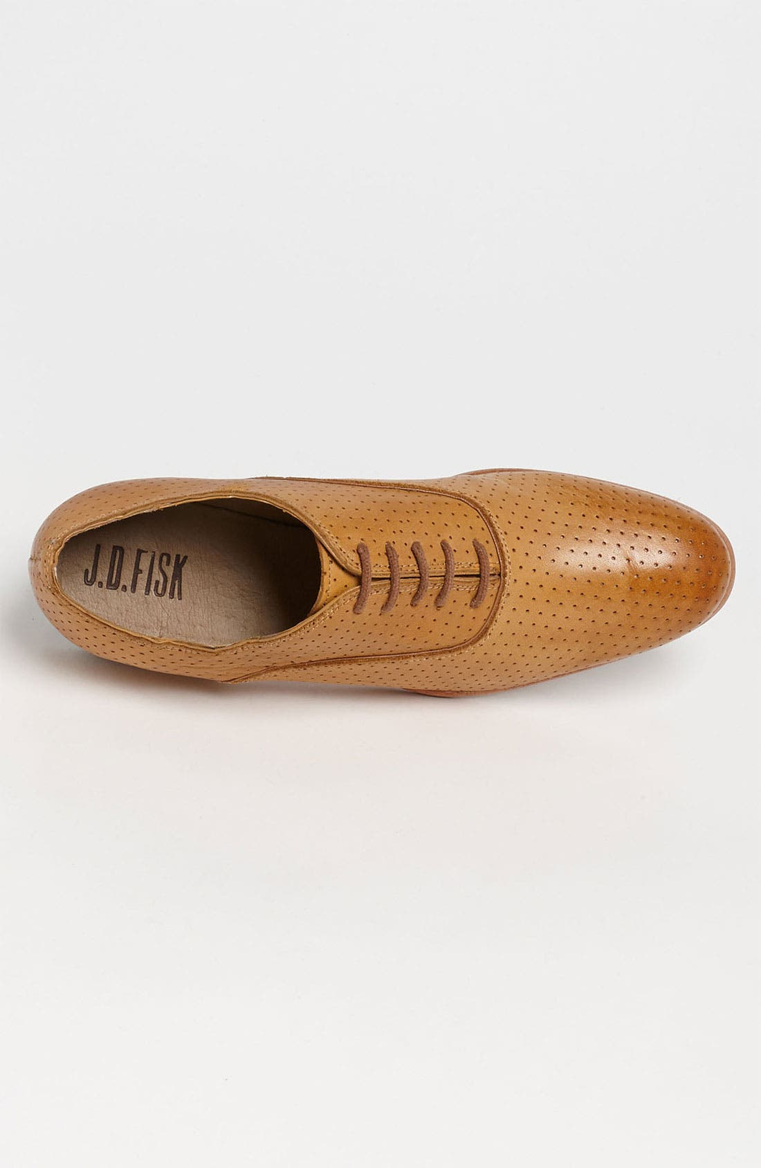 Alternate Image 3  - J.D. Fisk 'Moore' Perforated Oxford