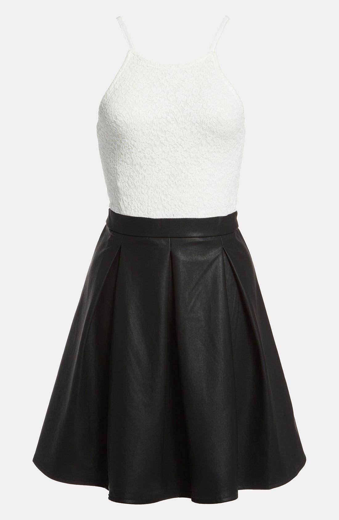 Alternate Image 1 Selected - MINKPINK 'Imogen' Combo Dress