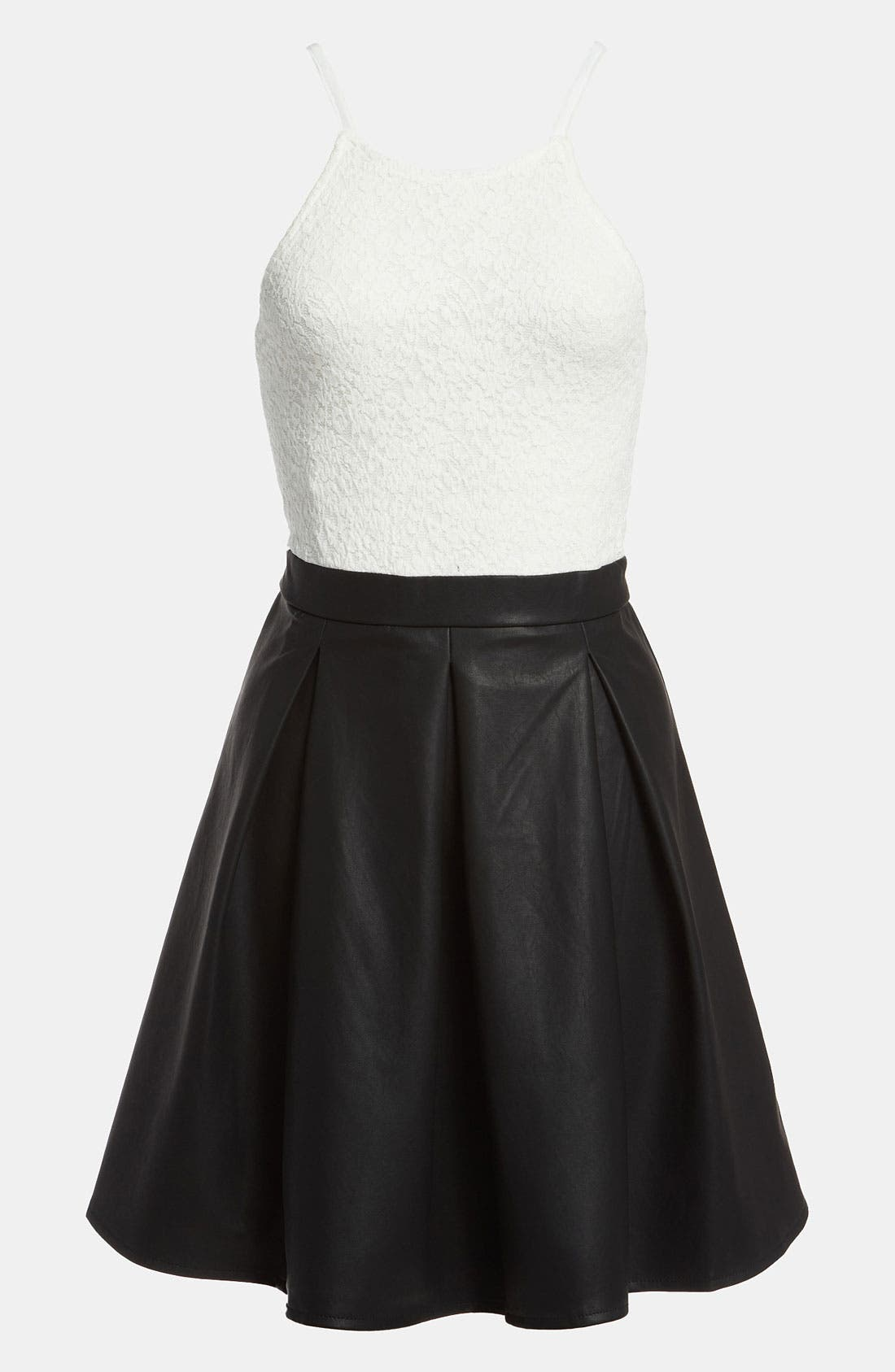 Main Image - MINKPINK 'Imogen' Combo Dress
