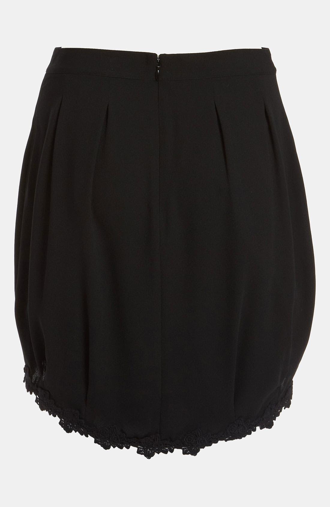 Alternate Image 2  - Tildon 'Bustle' High/Low Skirt