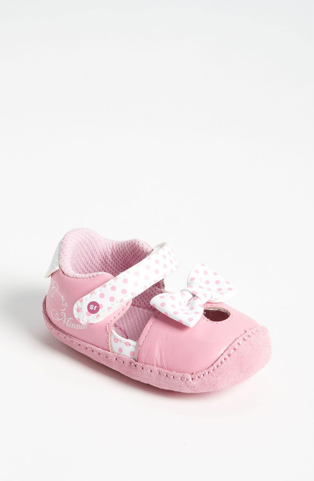Main Image - Stride Rite 'Crawl - Minnie Mouse®' Slip-On (Baby)