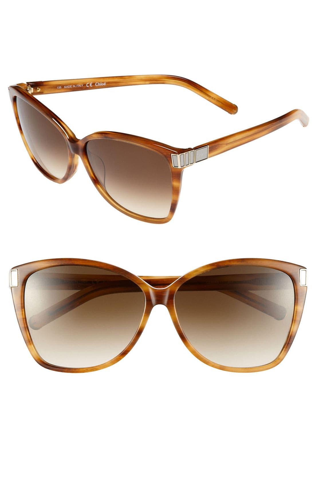 Main Image - Chloé 'Hoya' 59mm Sunglasses
