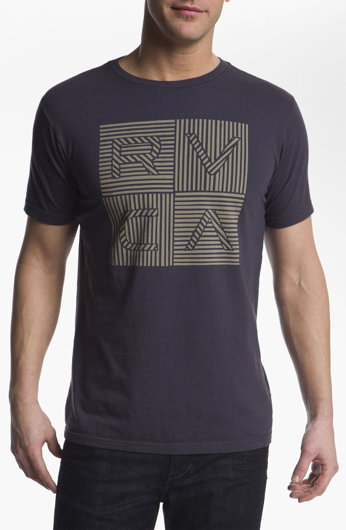 Alternate Image 1 Selected - RVCA 'Lines & Lines' T-Shirt