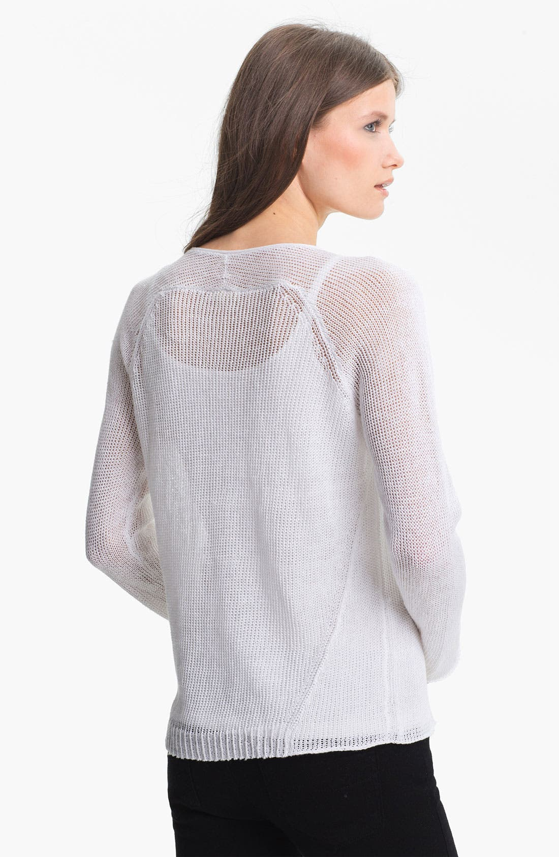 Alternate Image 2  - Eileen Fisher Scoop Neck Raglan Sleeve Top
