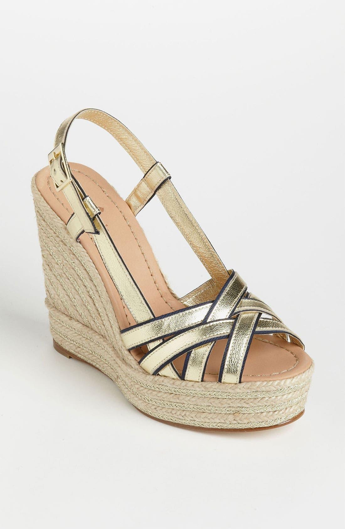 Alternate Image 1 Selected - kate spade new york 'ladan' wedge sandal