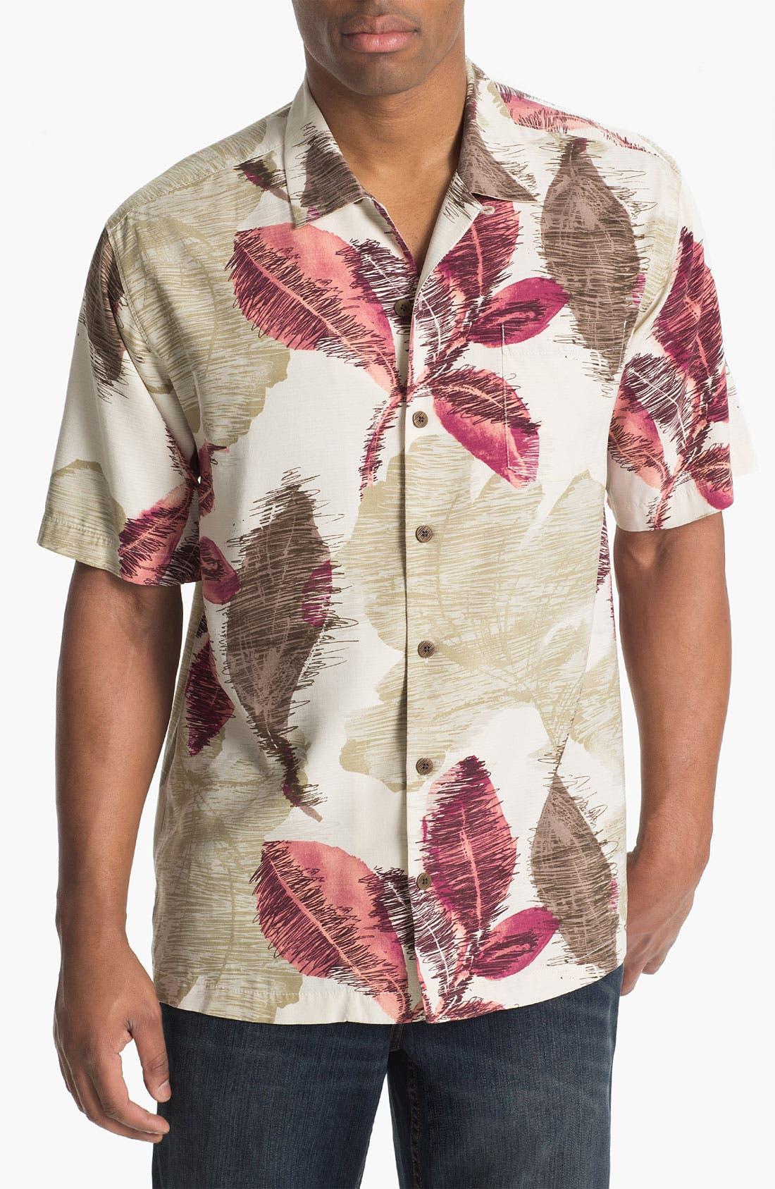 Alternate Image 1 Selected - Tommy Bahama 'Avant Garden' Campshirt