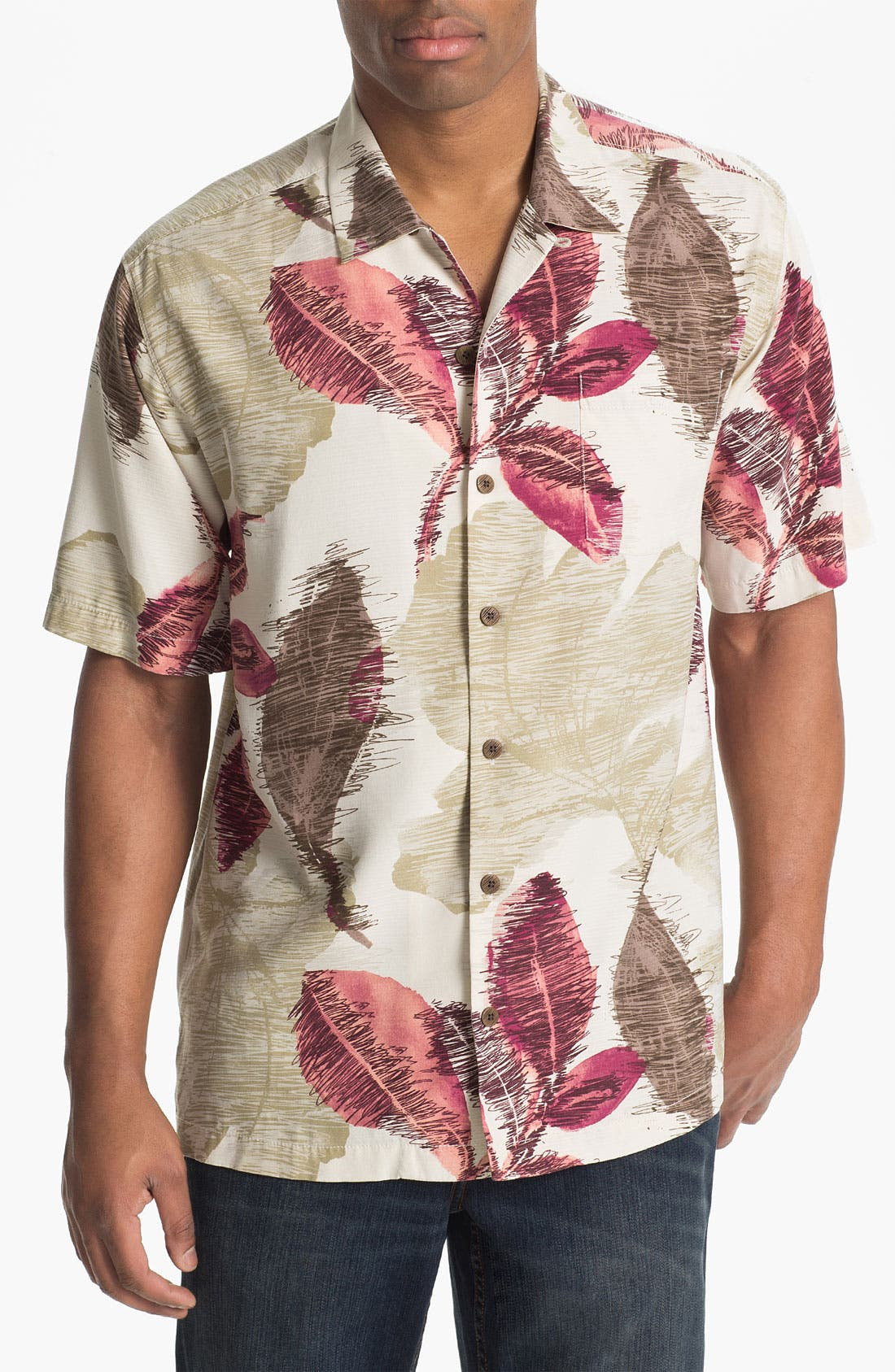 Main Image - Tommy Bahama 'Avant Garden' Campshirt