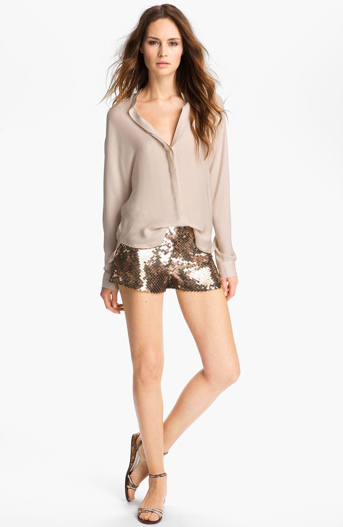 Alternate Image 2  - Haute Hippie Sequin Shorts