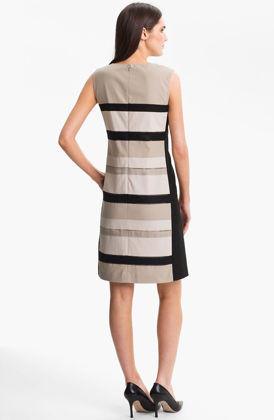 Alternate Image 2  - Lafayette 148 New York 'Noel - Metropolitan Stretch' Dress (Online Only)