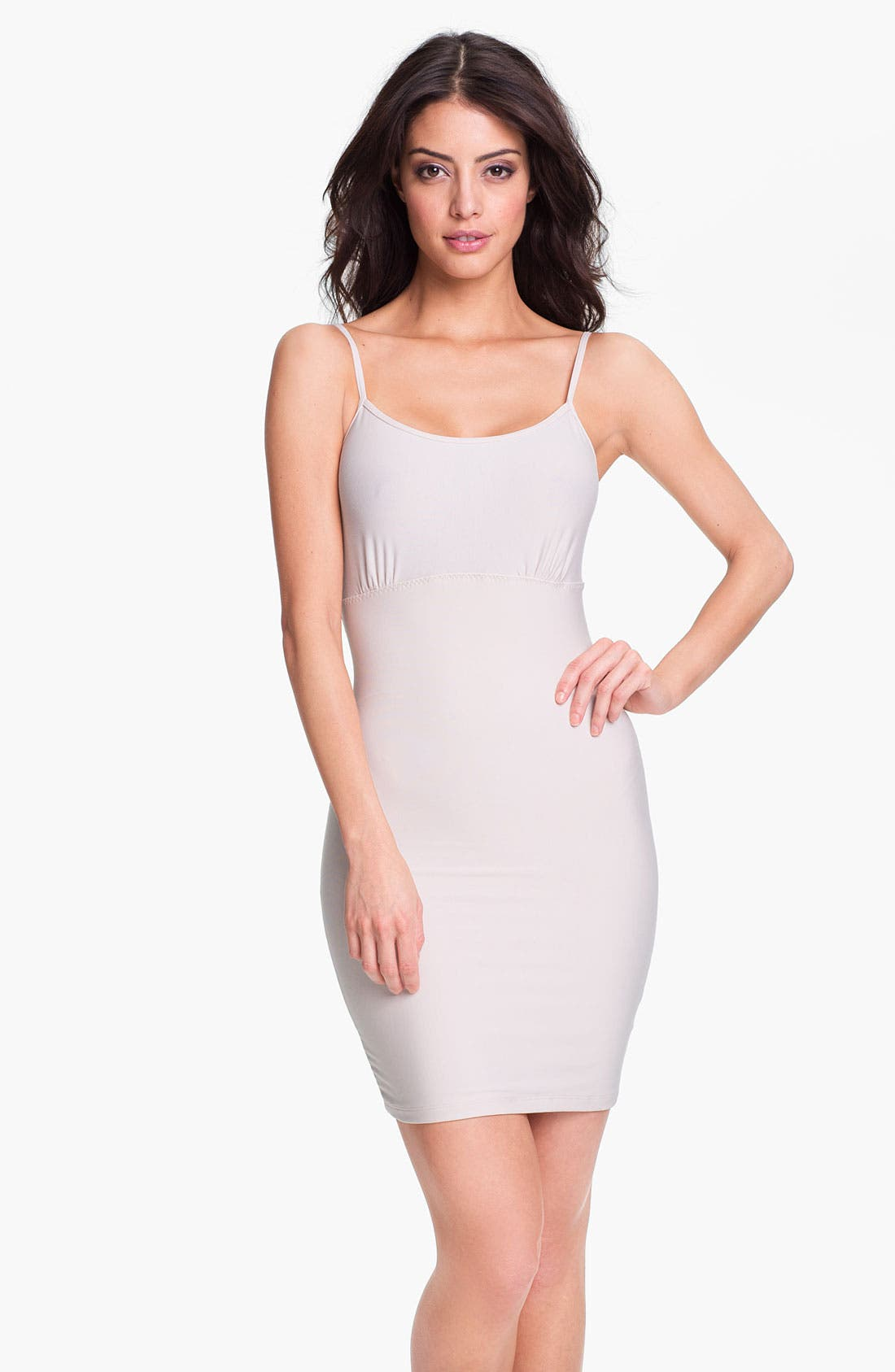 Alternate Image 1 Selected - SPANX® 'Spoil Me Cotton' Shaping Slip