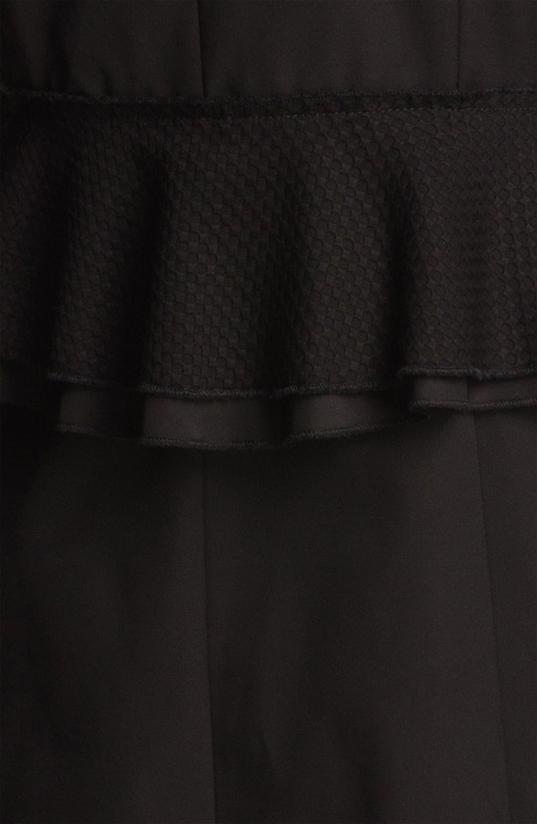 Alternate Image 4  - Tahari 'Jenna' Peplum Walking Coat (Online Only)