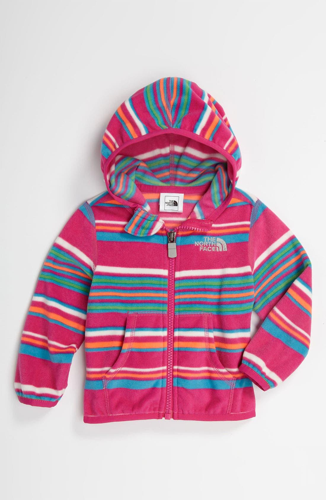 Alternate Image 1 Selected - The North Face 'Glacier' Fleece Jacket (Baby)