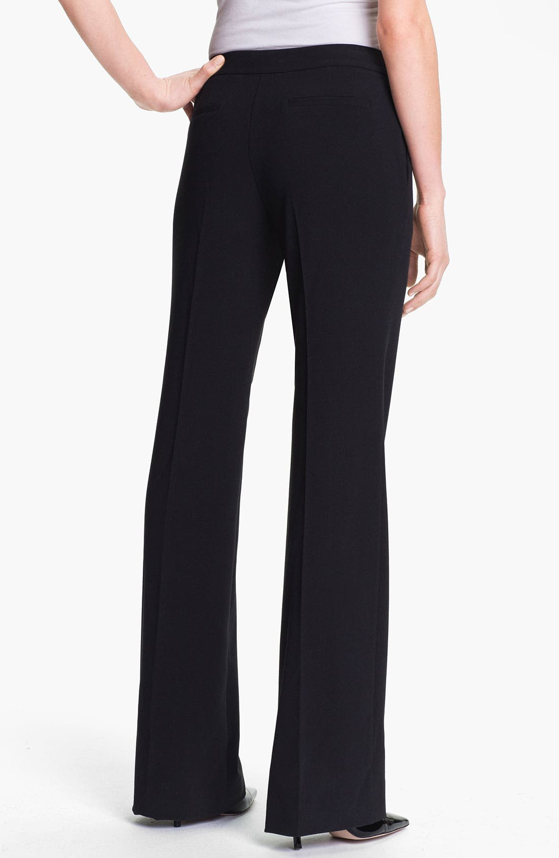 Alternate Image 2  - Isaac Mizrahi New York Stretch Woven Trousers