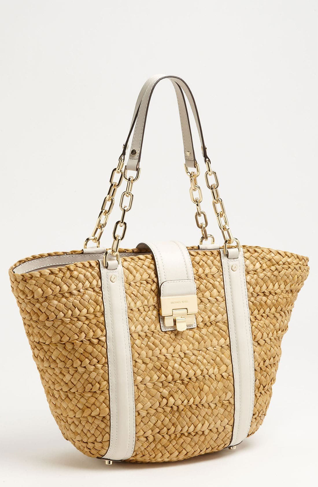 Alternate Image 1 Selected - MICHAEL Michael Kors 'Deneuve - Large' Straw Tote