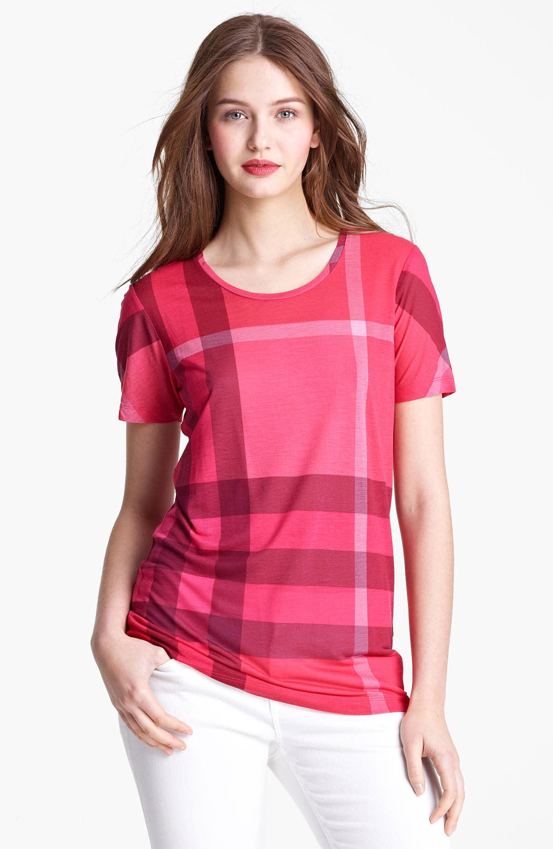 Alternate Image 1 Selected - Burberry Brit Short Sleeve Tee