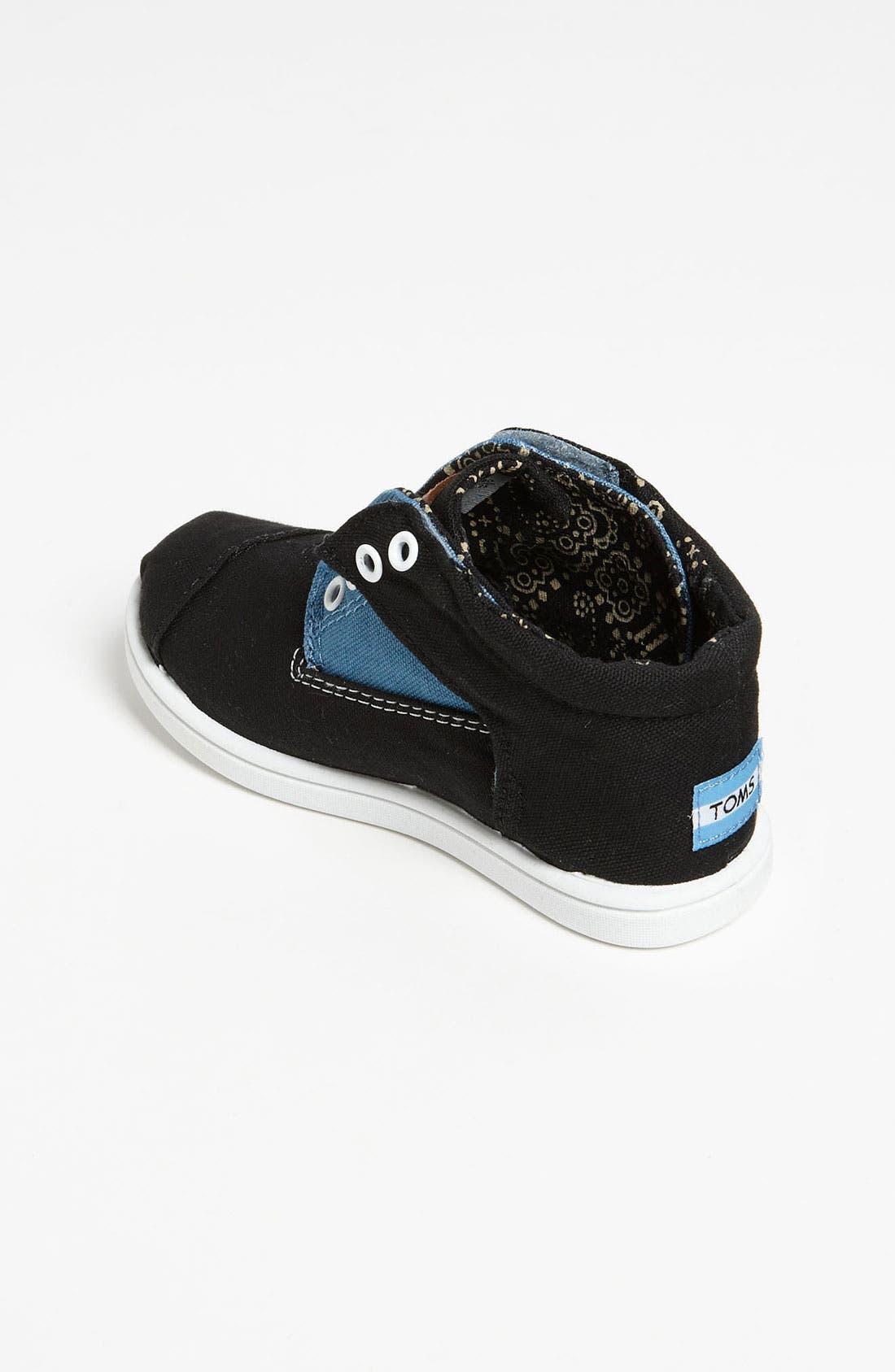 Alternate Image 2  - TOMS 'Botas - Tiny' Canvas Boot (Baby, Walker & Toddler)