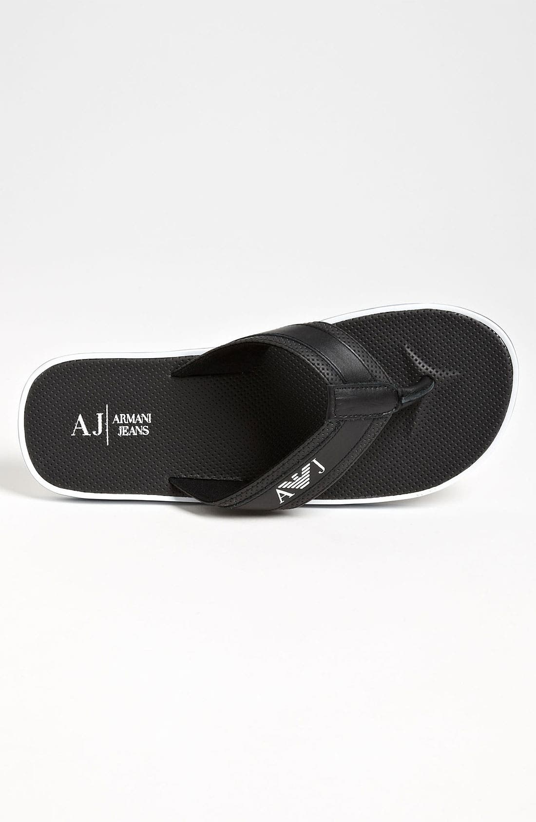 Alternate Image 3  - Armani Jeans Flip Flop