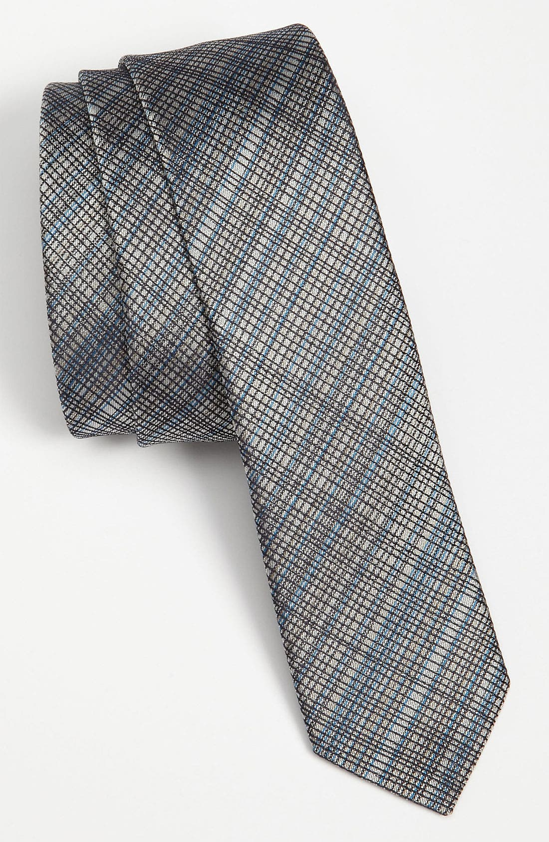 Alternate Image 1 Selected - HUGO Skinny Woven Silk Tie