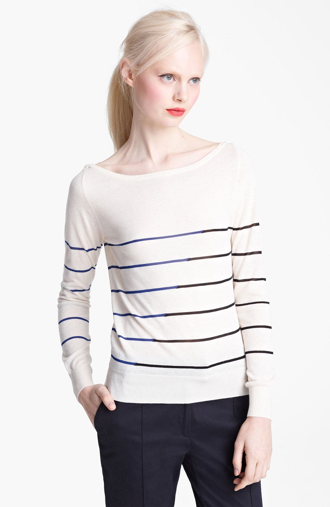 Alternate Image 1 Selected - Band of Outsiders Stripe Sweater