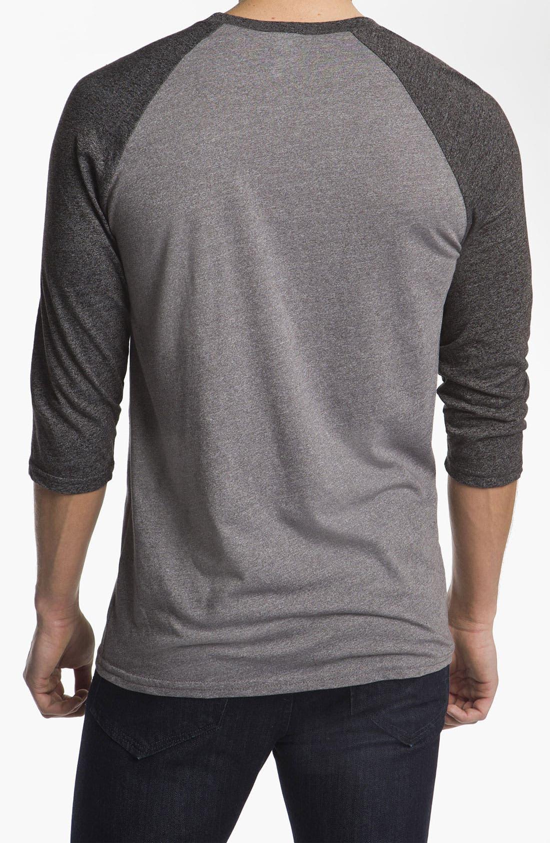 Alternate Image 2  - Volcom 'Cleaner' Baseball T-Shirt