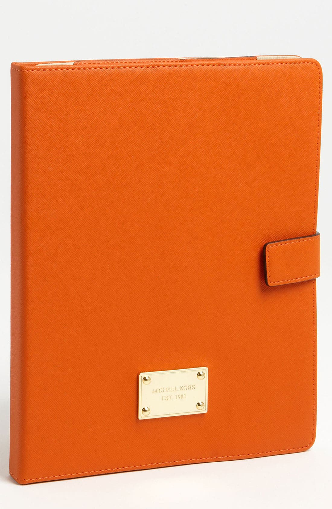 Alternate Image 1 Selected - MICHAEL Michael Kors Saffiano Leather iPad 2 & 3 Stand