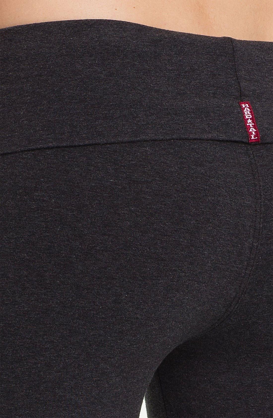 Alternate Image 3  - Hard Tail Bootcut Flare Knit Pants