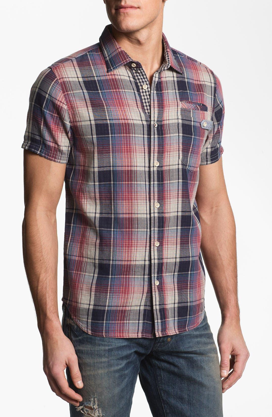 Alternate Image 1 Selected - Howe 'Angeles Found' Short Sleeve Sport Shirt