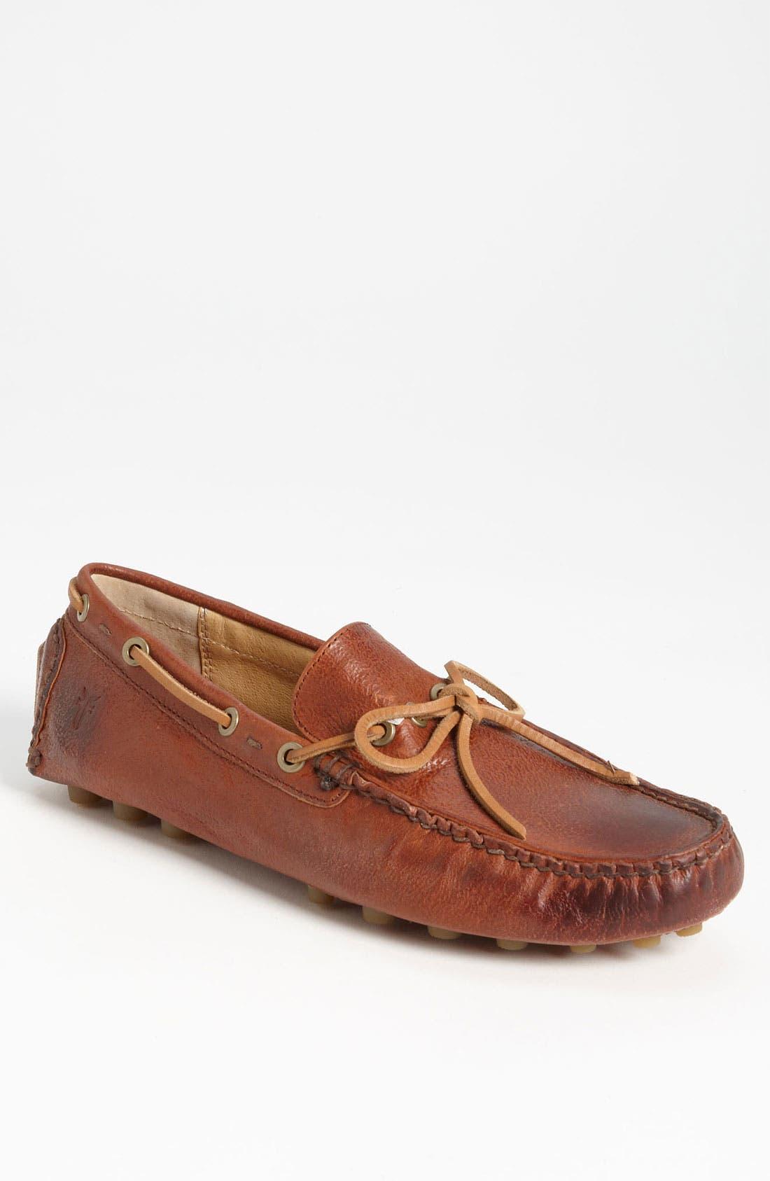 Alternate Image 1 Selected - Frye 'Russel' Driving Shoe