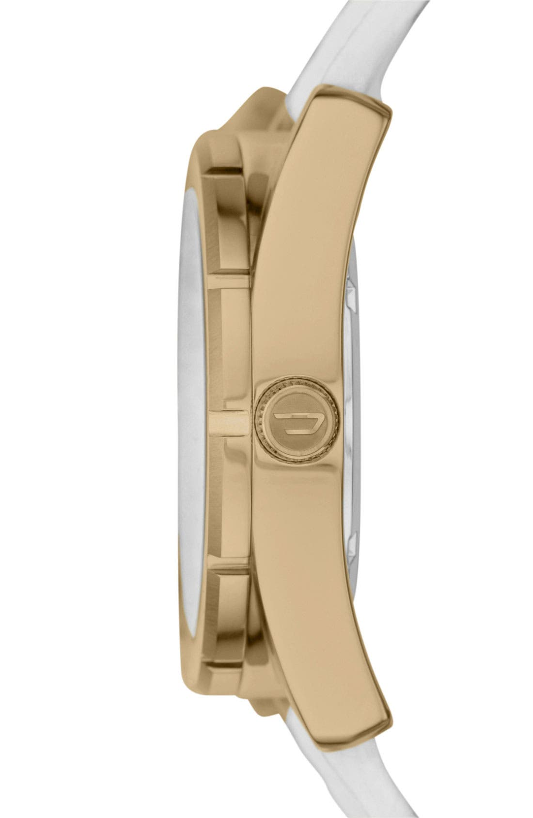 Alternate Image 2  - DIESEL® 'Good Company' Leather Strap Watch, 44mm