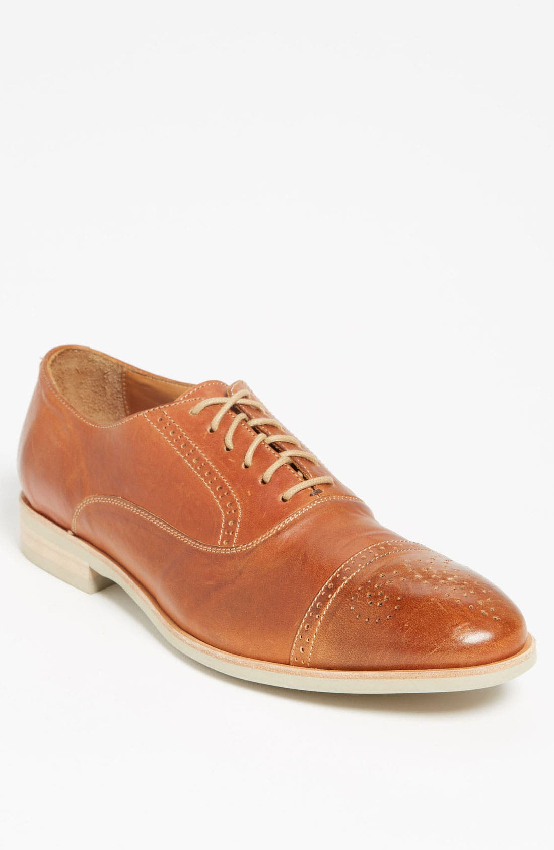 Alternate Image 1 Selected - Maison Forte 'Hyeres' Cap Toe Oxford