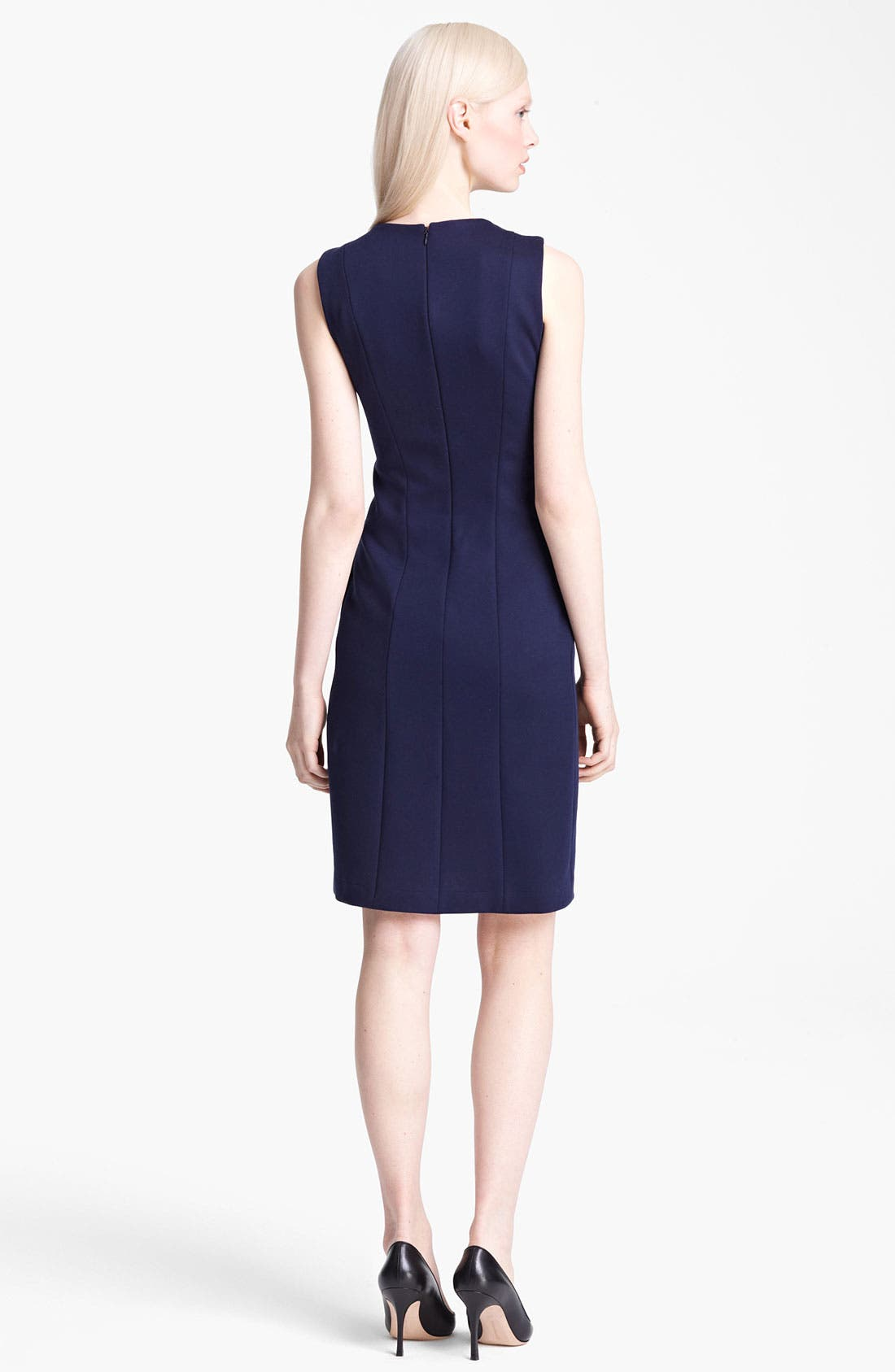Alternate Image 2  - Jil Sander Japanese Jersey Dress