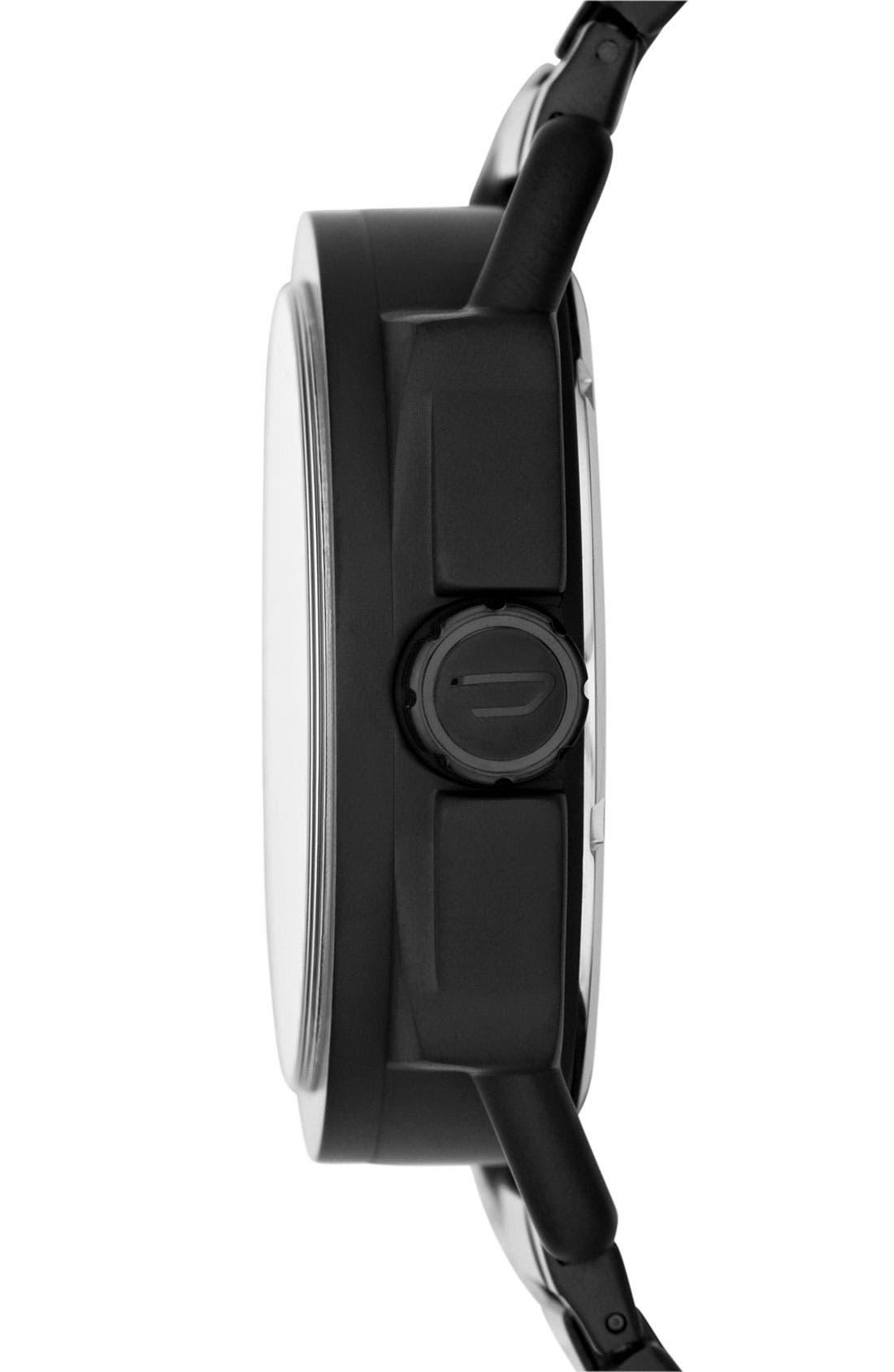Alternate Image 2  - DIESEL® 'Descender' Bracelet Watch, 50mm