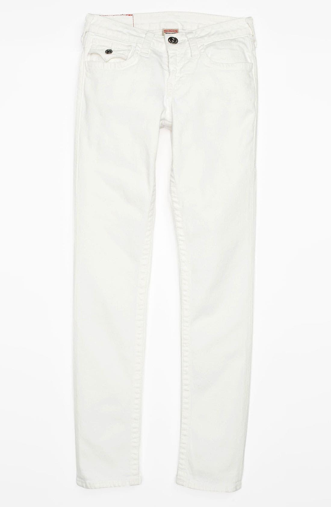 Alternate Image 2  - True Religion Brand Jeans 'Misty' Skinny Leg Jeans (Little Girls & Big Girls)