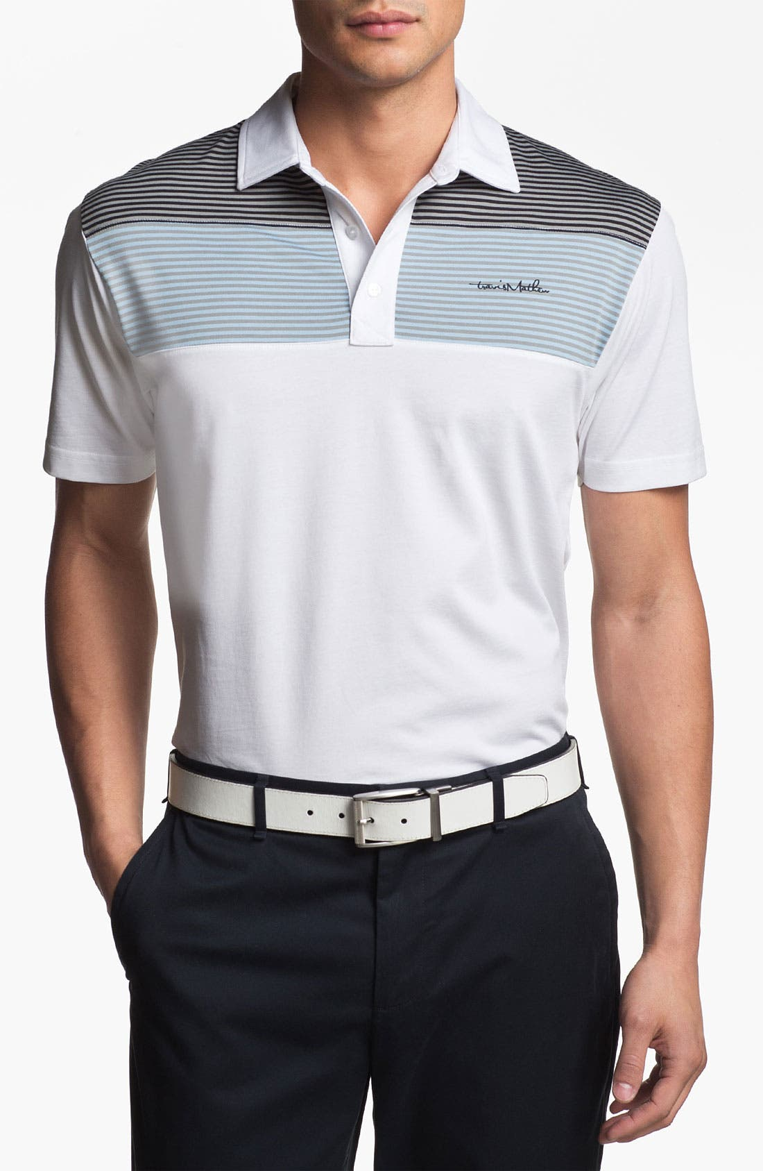 Alternate Image 1 Selected - Travis Mathew 'Mommasulo' Regular Fit Golf Polo