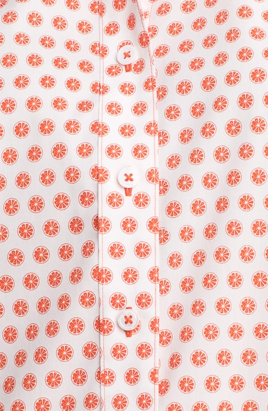 Alternate Image 3  - Foxcroft 'Citrus Dot' Shirt