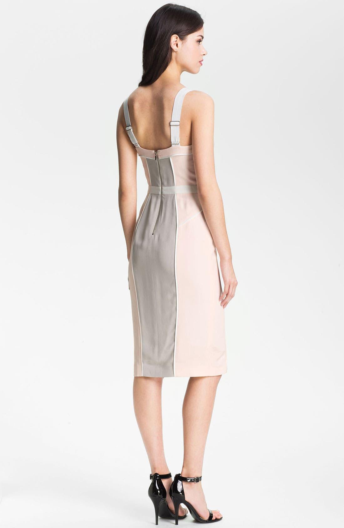 Alternate Image 2  - Rebecca Minkoff 'Clarissa' Colorblock Bustier Dress