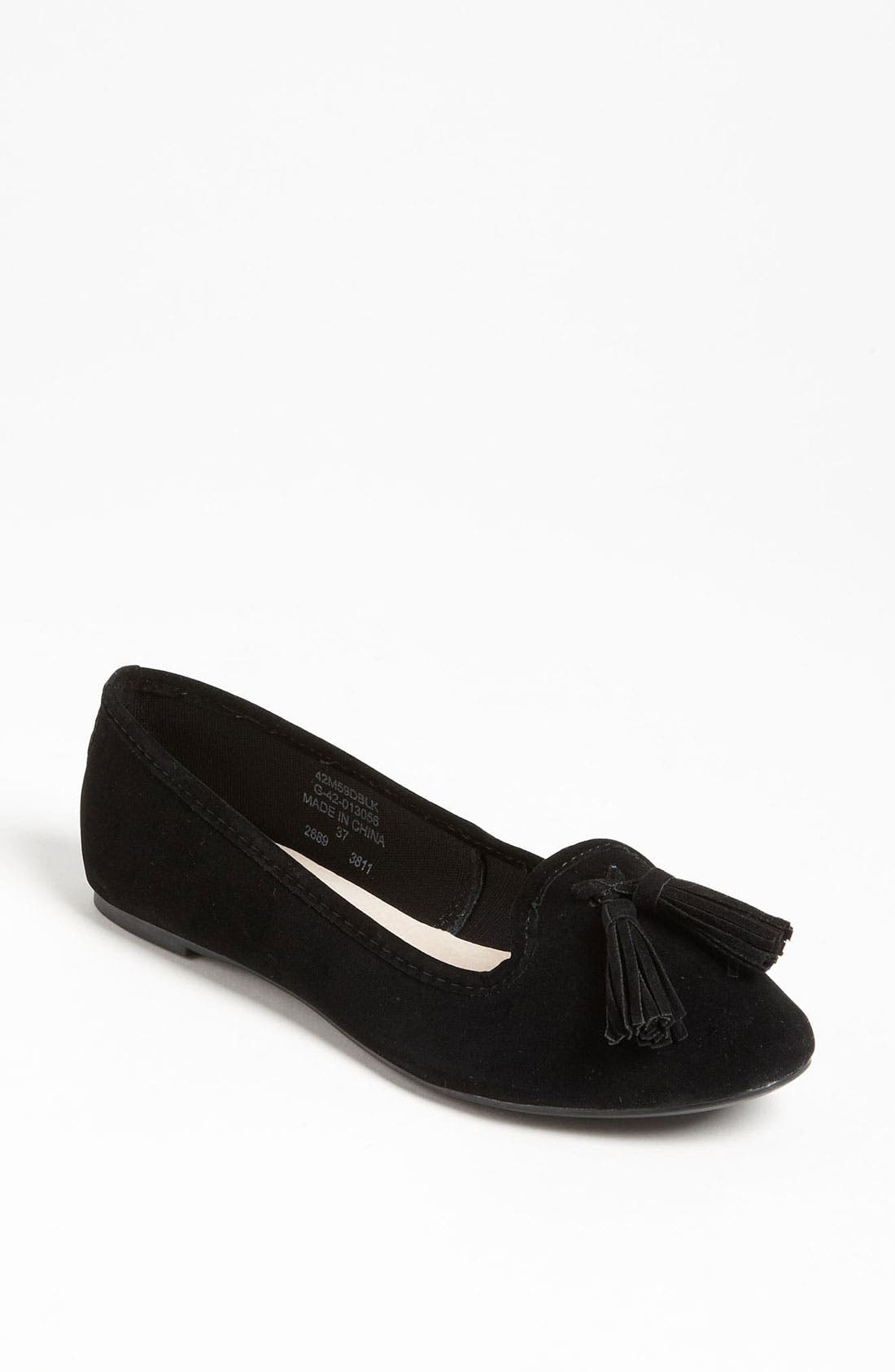 Alternate Image 1 Selected - Topshop 'Mex' Velvet Slipper