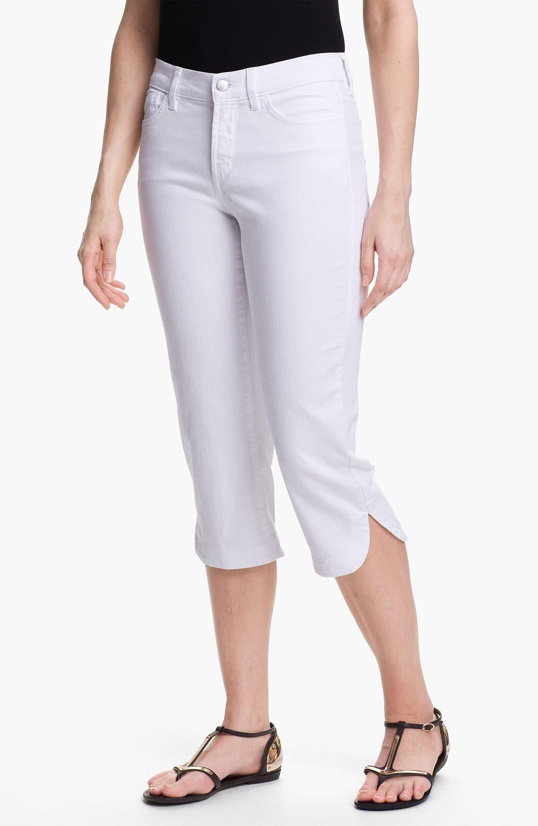 Alternate Image 1 Selected - NYDJ 'Olga' Crop Stretch Jeans